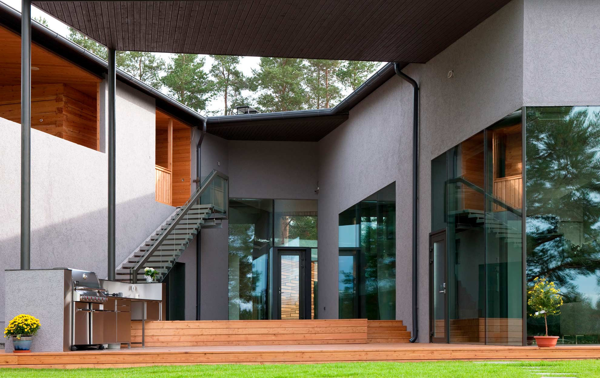 Example Of PAVE Architects Comprehensive Design Philosophy Private House Oulu Finland Architect Principal Interior