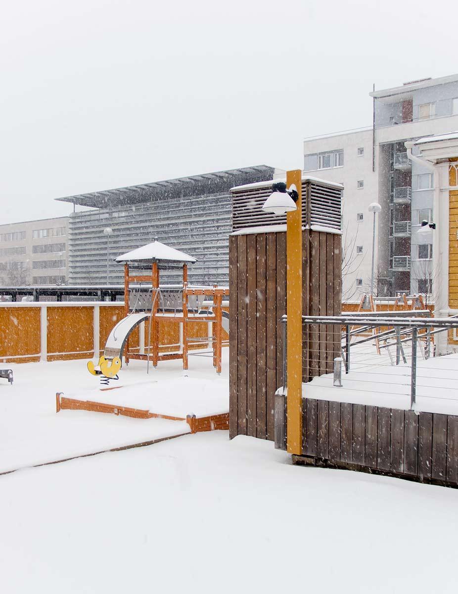 Aleksanterintori school pave architects for Architect ltd